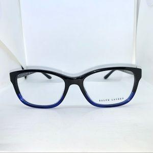 Ralph Lauren Black Gradient Blue Eyeglasses